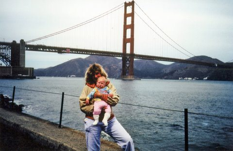 Margaret Meagan Golden Gate San Francisco circa sept/oct 1981